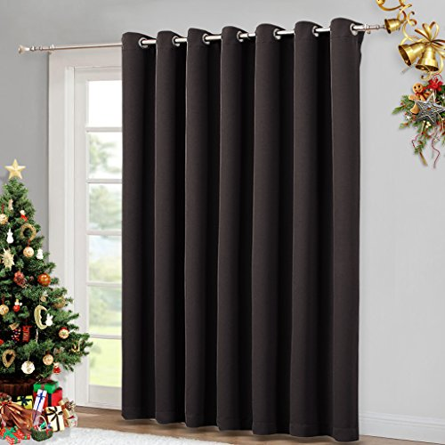 Wide Width Patio Doors Blinds Thermal Blackout Patio