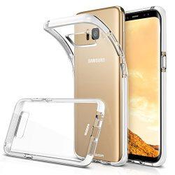 Samsung Galaxy S8 Plus Case, ESR Clear Crystal Soft TPU Bumper Case [Ultra Hybrid] [Air Cushion] ...