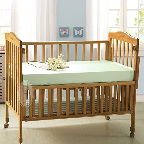 THXSILK Pure Silk Fitted Crib Sheets, Organic Baby Crib Bedding-Ultra Soft, Smooth, Hypoallergen ...