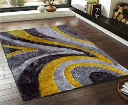 Beautiful & Luxurious Superior Quality Area Shag Rug, Hand Tufted , Contemporary Design, Dan ...