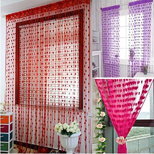 blue sheer curtains window curtains blue home u0026 kitchen 200cm x 100cm silk string curtain