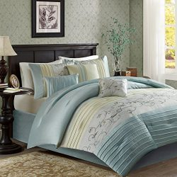 Serene Comforter Set Aqua King