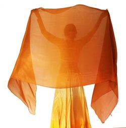 Nahari Silks 100% Silk Copper Storm 108″