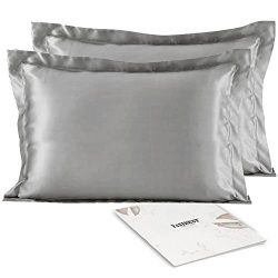 Satin Silk Pillowcase Pillow Covers – YANIBEST Satin Silk Pillowcase For Facial Beauty Hai ...