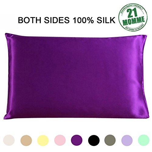 100 Pure Natural Mulberry Silk Pillowcases 21 Momme 600