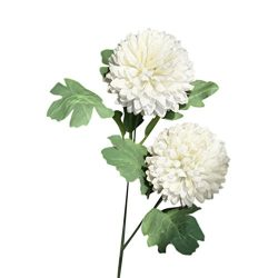 Woaills Dandelion Floral Bouquet Wedding Hydrangea Decor – Artificial Silk Fake Flowers (W ...