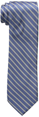 Dockers Men's Big-tall Dockers Extra Long Men's Polk Street Stripe 100% Silk Tie (xl ...