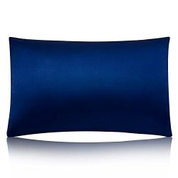 MEILIS 100% Pure Silk Satin Pillowcase for Baby Travel Sized Pillows,Hypoallergenic Pillow Shams ...