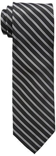 Dockers Men's Big-tall Dockers Extra Long Men's Polk Street Stripe 100% Silk Tie (xl ...