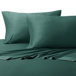 King Teal Silky Soft sheets 100% Viscose from Bamboo Sheet Set