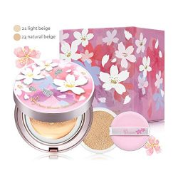 ISA KNOX 2017 Cherry Blossom Micro Foam Cushion Silk Cover #21 SPF50+/PA+++ 15g+15g(refill)