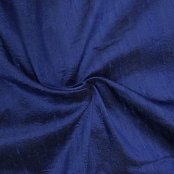 100% Pure Silk Dupioni Fabric 54″ Wide BTY Drape Blouse Dress Craft (Blue)