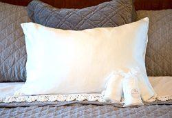 100% Premium 25 mm Mulberry Silk Pillowcases for Hair & Skin (2 Pack) | Machine Washable &am ...
