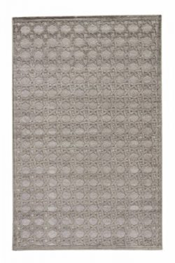 Jaipur Living Trella Trellis Gray/Silver Area Rug (2′ X 3′)