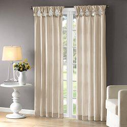 Emilia Window Curtain Ivory 95″ Panel