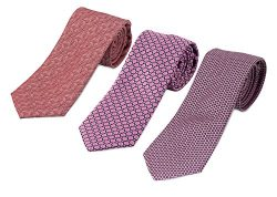795-793-775- 3 Pack Men's Micro Silk Neck Ties – by HBNY