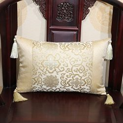 More colors Chinese-style classical pillow silks and satins cushion pillowcase for sofa and bed  ...
