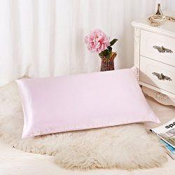 ALASKA BEAR – Natural Silk Pillowcase, Hypoallergenic, 25 momme, 900 thread count 100% Mul ...