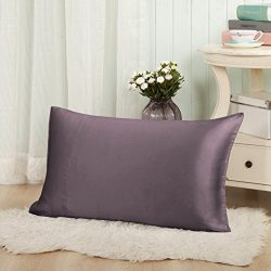 THXSILK Silk Pillowcase for Hair and Skin-Pillow Cover,Pillow Case-Hypoallergenic with Envelope  ...