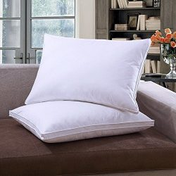 Microfiber Pillows,Emolli Bedding Super Pillow Dust Mite Resistant Silk alteranative microfiber  ...