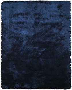 Feizy Rugs Indochine Collection Imported Area Rug, 4'9″ x 7'6″, Dark Blue