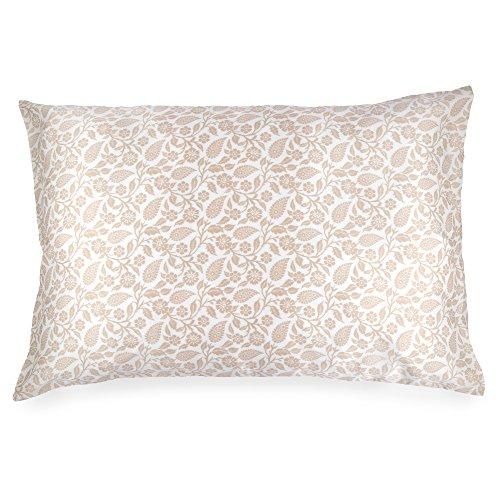 Spasilk 100% Silk Pillowcase Facial Beauty And Hair, Queen