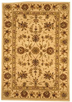 Safavieh Traditions Collection TD602A Handmade Ivory Wool Area Rug (4′ x 6′)