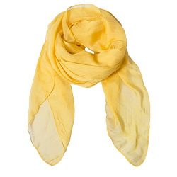 Solid Color Silk Scarf Can Be Used as Cape, Scarf and Wrap