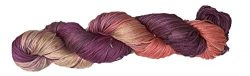 Mulberry Silk 3-ply hand Tie and Dyed yarn (50 Grams, 260+ yards) | Silk Yarn for Knitting, Weav ...