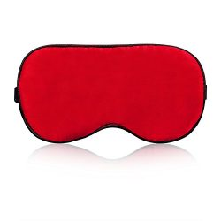 YoungMi Natural Silk Sleep Mask Super Smooth Blindfold Eye Mask Ultra Lightweight Comfortable wi ...