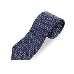 Men's Mulberry Silk Textured Ties, Luxe Jacquard Fabric Neckties for Business, Interview, Wedding