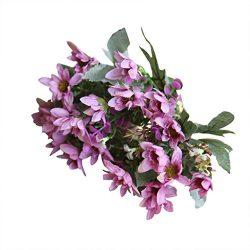 Artificial Flowers Clearance, Paymenow 25 Head Silk Fake Flowers Chrysanthemu Wedding Bouquet Br ...