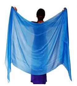 Nahari Silks 100% Silk Skywater 108″