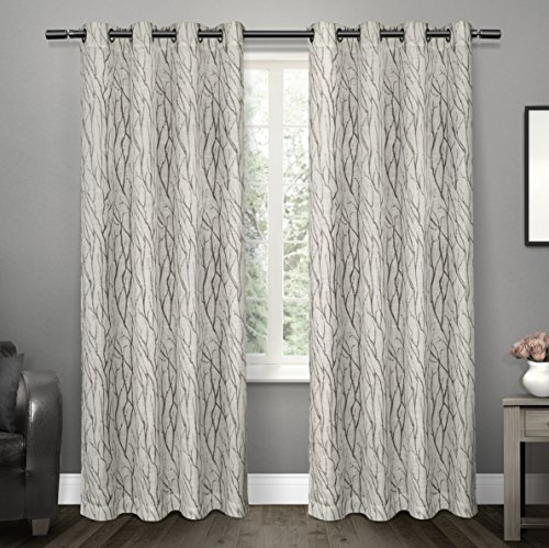 Exclusive Home Curtains Oakdale Sheer Grommet Top Window
