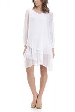 Laura Moretti – Asymmetric layered silk dress