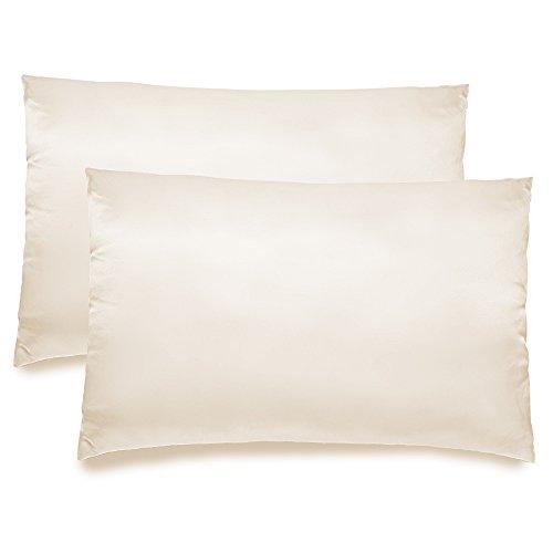 fabricmcc silk pillowcase hypoallergenic queen size pillow case with zipper satin pillowcases. Black Bedroom Furniture Sets. Home Design Ideas