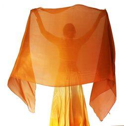 Nahari Silks 100% Silk Copper Storm 82″