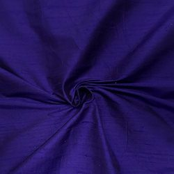100% Pure Silk Dupioni Fabric 54″ Wide BTY Drape Blouse Dress Craft (Purple)