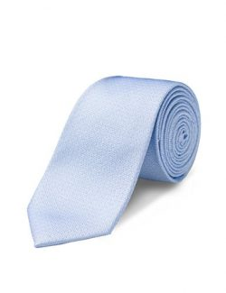 ORIGIN TIES Men's Fashion 100% Silk Solid 2.5 inches Skinny Tie Sky Blue