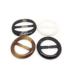 6PCS Fashion Round Plastic Scarves Buckle Silk Sarf Clasp Clips Clothing Ring Wrap Holder fo Nec ...