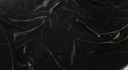 "100% SILK RAYON VELVET SOLID FABRIC 45""W CLOTHING,DRAPERY,DRESSES 30 COLOR BY THE YARD (BLACK)"