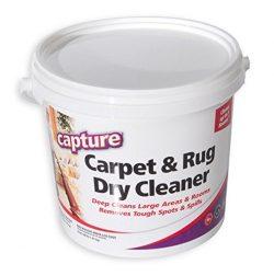Capture Carpet Dry Cleaner Powder 4 Pound – Resolve Allergens Stain Smell Moisture from Ru ...