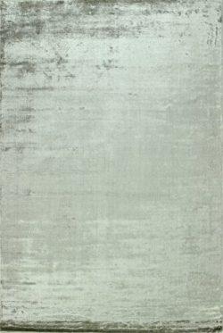 Bashian radiance collection WZ hand loomed 100% banana silk area rug, 2.6′ x 8′, Oyster