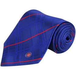 MLB Chicago Cubs Royal Blue Oxford Woven Silk Tie