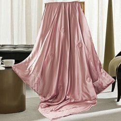 THXSILK Silk blanket, Silk Throws, Silk Blanket Cover, Sofa Throws-Ultra Soft, Hypoallergenic, B ...