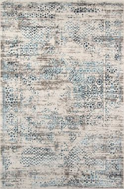 Momeni Rugs JULIEJU-02BLU2030 Juliet Collection Transitional Area Rug, 2′ x 3′, Blue