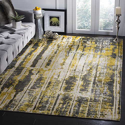 Safavieh Mirage Collection Mir267a Grey And Yellow Area