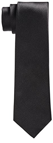 Premium 100% Silk Tie Black, Navy, Pink Signature Wrapping Gift Box (Black 3 Inch)