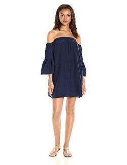 Lilly Pulitzer Women's Sanilla Silk Dress, True Navy, XS