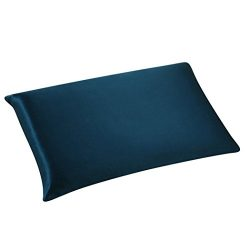 GBSELL Pillow Cover Silk Rectangle Throw Pillow Case Cafe Home Party Christmas Decor Cushion (Navy)